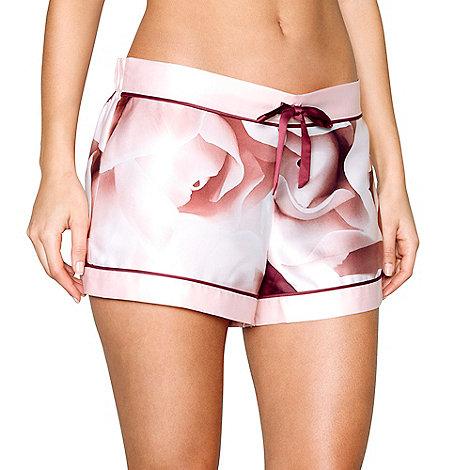 Passionata - Pink push up plunge lace bra