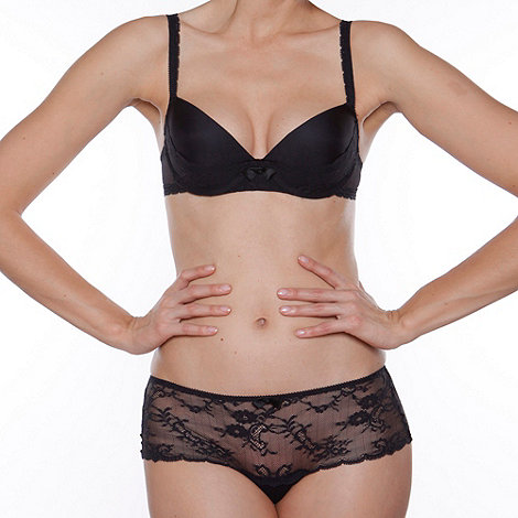 Passionata - Black +Love mood+ balcony push up bra