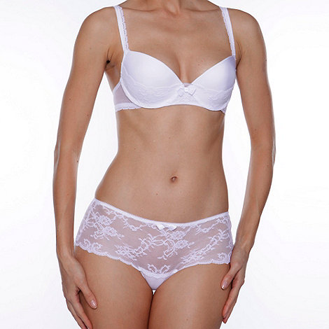 Passionata - White +Love mood+ balcony push up bra