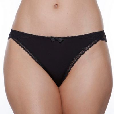 Black Love mood thong
