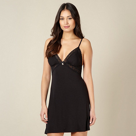B by Ted Baker - Black lace jersey padded cup chemise