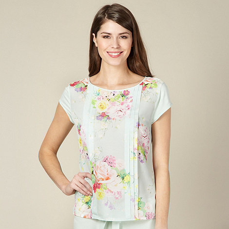 B by Ted Baker - Light green botanical pyjama top