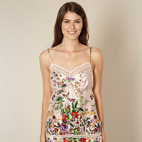 B by Ted Baker - Beige floral garden print camisole