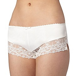 J by Jasper Conran - Designer ivory lace shorts
