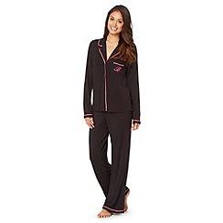 B by Ted Baker - Black long sleeve pyjama set