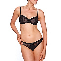 Passionata - Black 'Let's Play' non padded bra