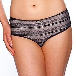 Passionata - Black 'Daily Lace' shorts