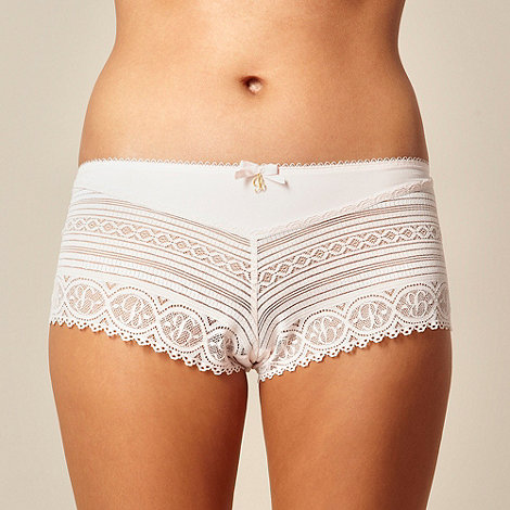 B by Ted Baker - Pale pink lace shorts