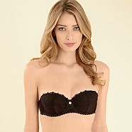 J by Jasper Conran-Black lace & diamante lingerie set