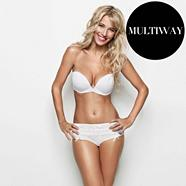 White 'Miracle' multiway bra