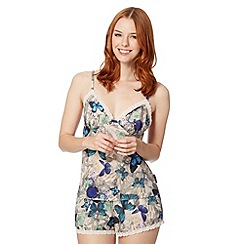 B by Ted Baker - Natural butterfly jewel cami