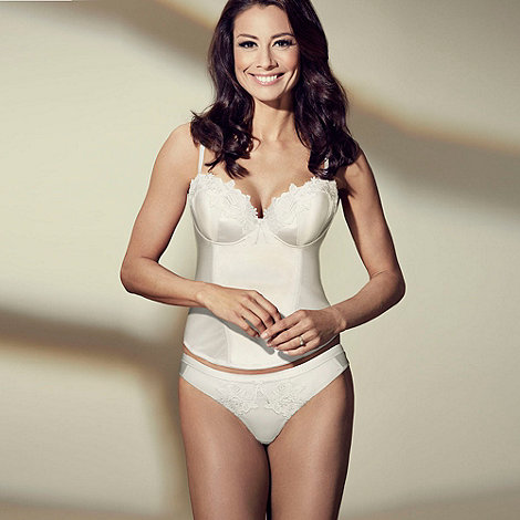 Adore Moi by Ultimo - Ivory +Garland+ bridal thong