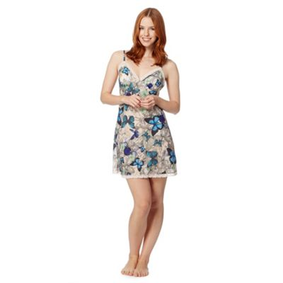 B by Ted Baker Natural butterfly jewel chemise - . -
