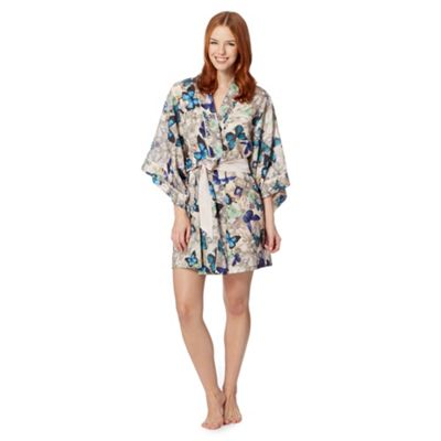 B by Ted Baker Natural butterfly jewel kimono - . -