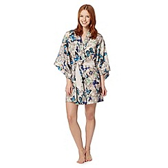 B by Ted Baker - Natural butterfly jewel kimono