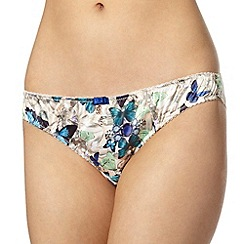 B by Ted Baker - Pale pink butterfly and jewel printed hipster briefs