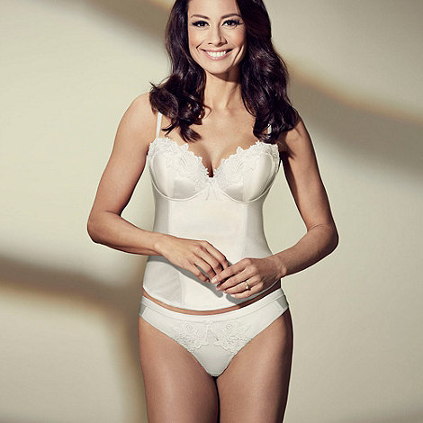 Adore Moi by Ultimo - Ivory 'Garland' bridal basque