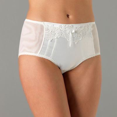 Ivory Garland bridal shaping knickers