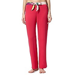 B by Ted Baker - Pink rose bug pyjama bottoms