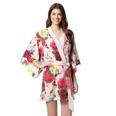 B by Ted Baker Light pink rose bug kimono - . -