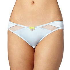 B by Ted Baker - Light blue satin hipster briefs