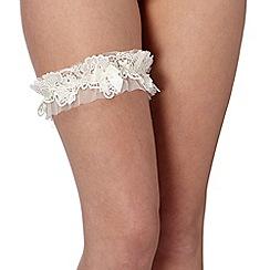 Reger by Janet Reger - Designer ivory bridal garter