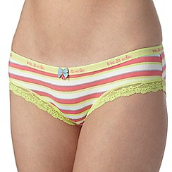 Iris & Edie - Pink striped shorts