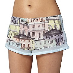 B by Ted Baker - Light blue regency house shorts