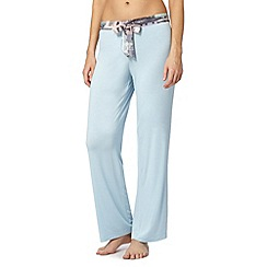 B by Ted Baker - Light blue regency house jersey pyjama bottoms