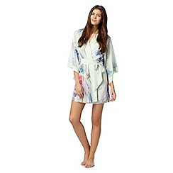 B by Ted Baker - Pale green sugar sweet floral kimono