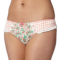 Floozie by Frost French - Pink strawberry print thong