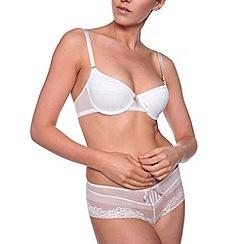 Passionata - White coquette lace t-shirt bra