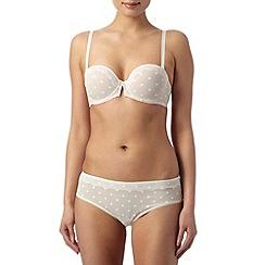 Passionata - Ivory confetti spotted strapless bra