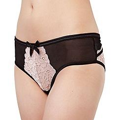Bluebella - Pink 'Vivienne' lace brazilian briefs