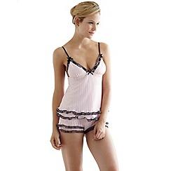 Bluebella - Pink 'Anais' cami and shorts set