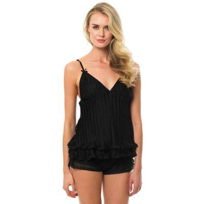 Bluebella Black ´Anais´ cami and shorts set - . -
