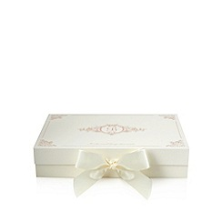 B by Ted Baker - Cream luxury gift box with tissue paper