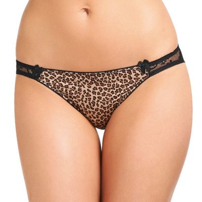 b.tempt´d Back ´Most Desired´ eopard thong - . -