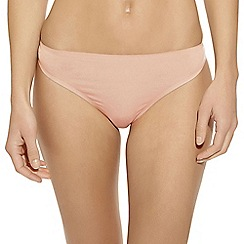 b.tempt'd - Natural 'B Sleek' thong