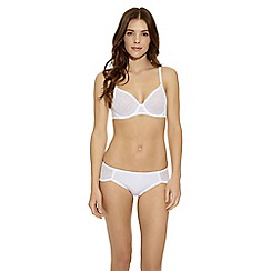 b.tempt'd - White 'B.Awesome' underwire bra