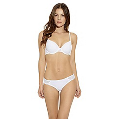 b.tempt'd - White 'B.Awesome' contour bra