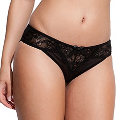 Bluebella - Black lace 'Darcy' briefs