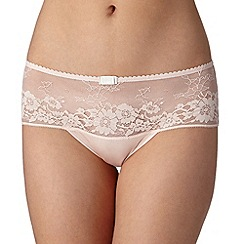 J by Jasper Conran - Designer light pink lace front shorts