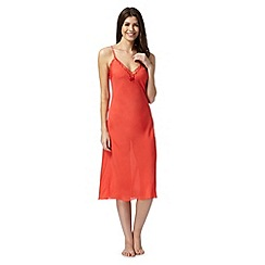 B by Ted Baker - Bright orange lace midi chemise