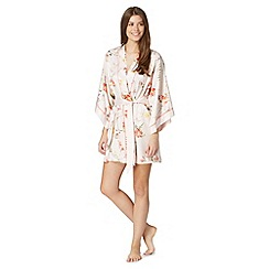 B by Ted Baker - Pale pink 'Botanical Bloom' kimono
