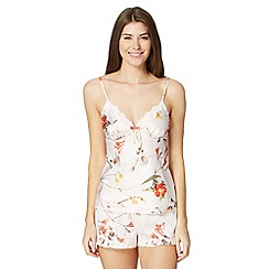 B by Ted Baker - Pale pink 'Botanical Bloom' cami