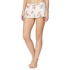 B by Ted Baker - Pale pink 'Botanical Bloom' shorts