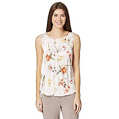 B by Ted Baker - Pale pink 'Botanical Bloom' vest top