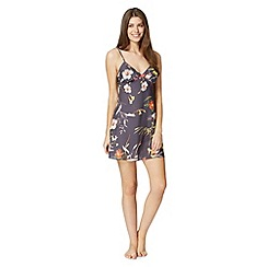 B by Ted Baker - Dark grey 'Botanical Bloom' chemise