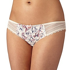 Floozie by Frost French - Ivory bow print hipster briefs